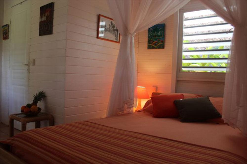 Nos chambres bungalow en Guadeloupe
